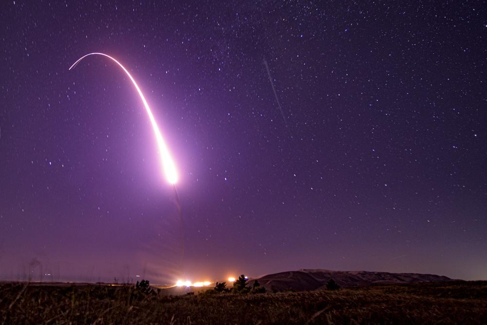 Minuteman III Test Launch