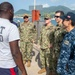 Comfort Holds Joint Training with St Kitts and Nevis Coast Guard