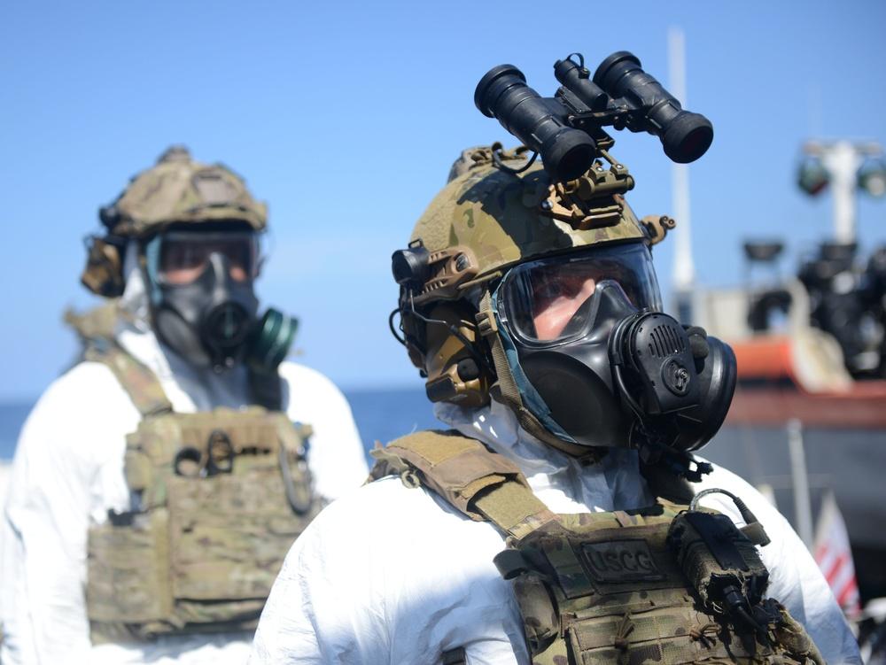 Coast Guard Cutter Stratton conducts Yellow Sea UNSCR enforcement patrol