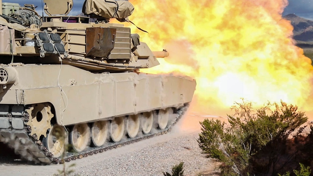 Combat team tests tanks for the first time following armor conversion