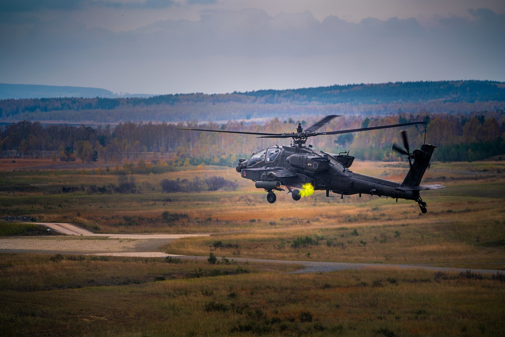 12h CAB conducts live fire training during Dragoon Ready 20
