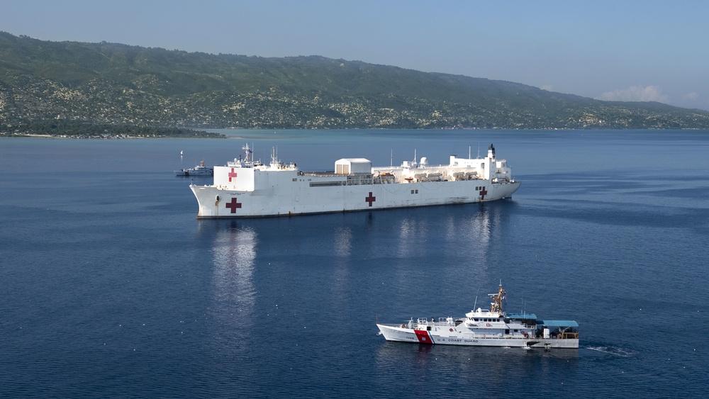 USNS Comfort Visits Port-Au-Prince, Haiti