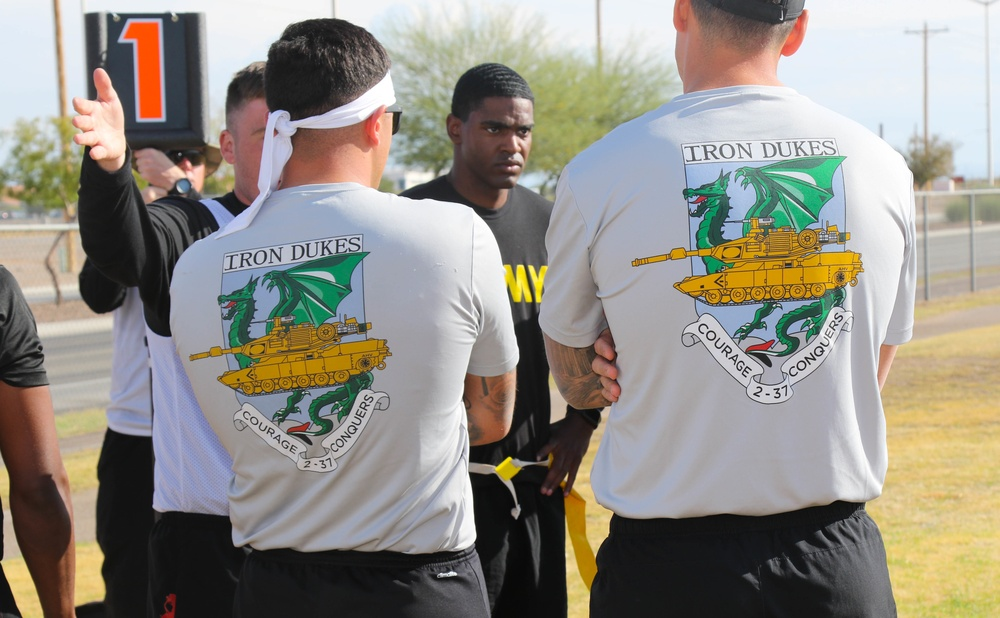 1st Armored Division commemorates Torch Week
