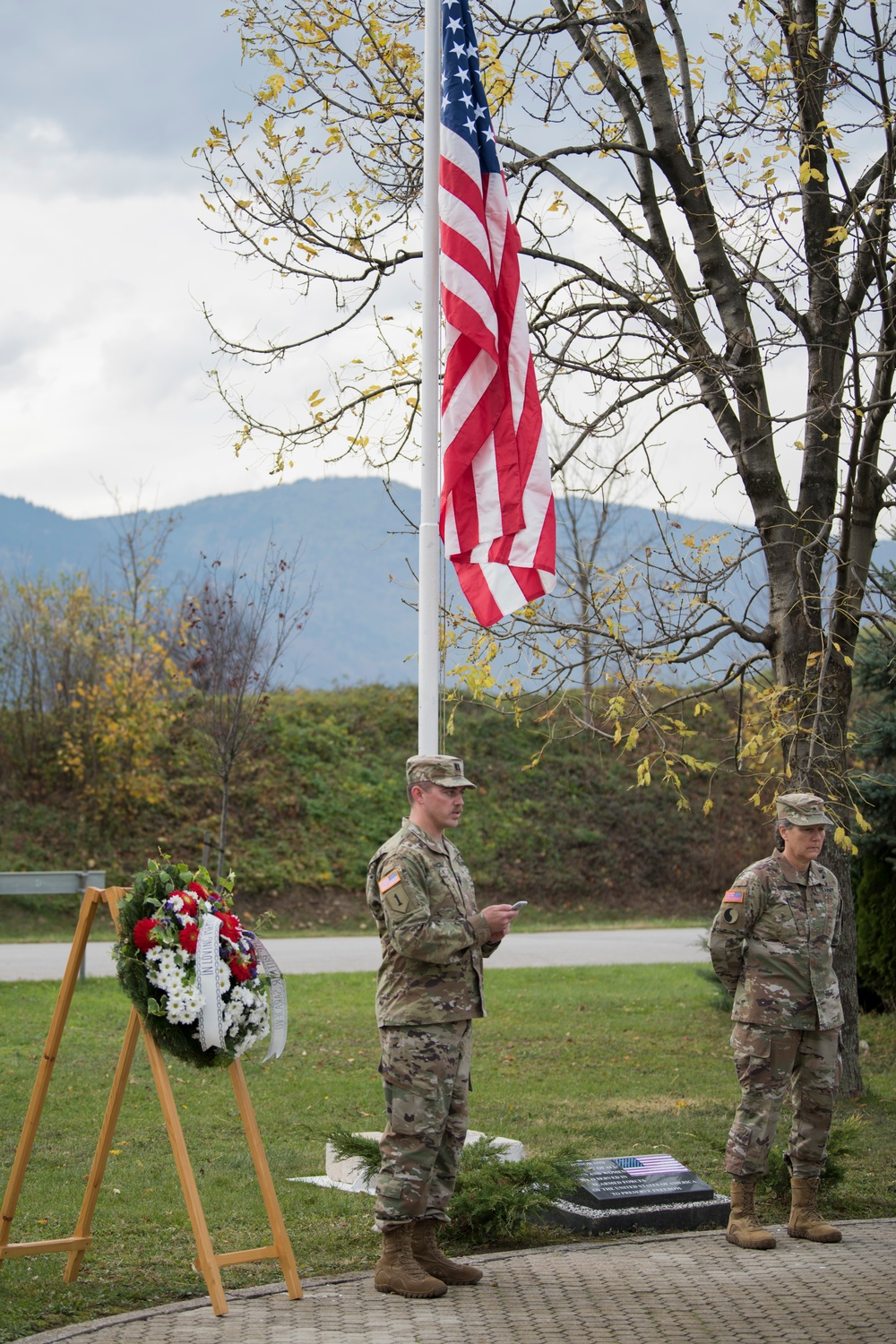 Veterans Day at Camp Butmir