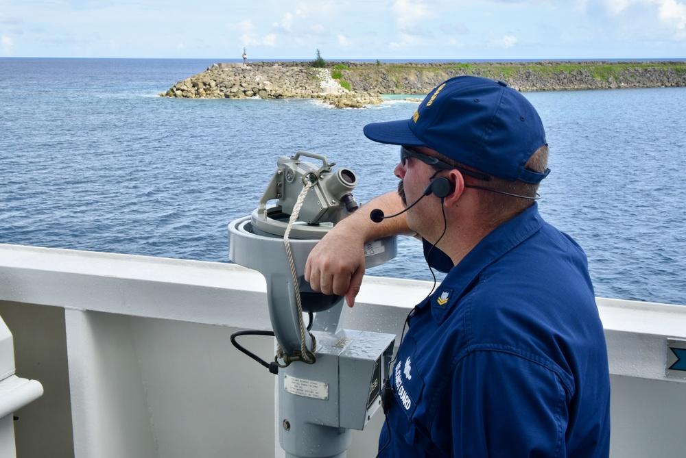 USCGC Stratton (WMSL 752) transits Guam to Hawaii