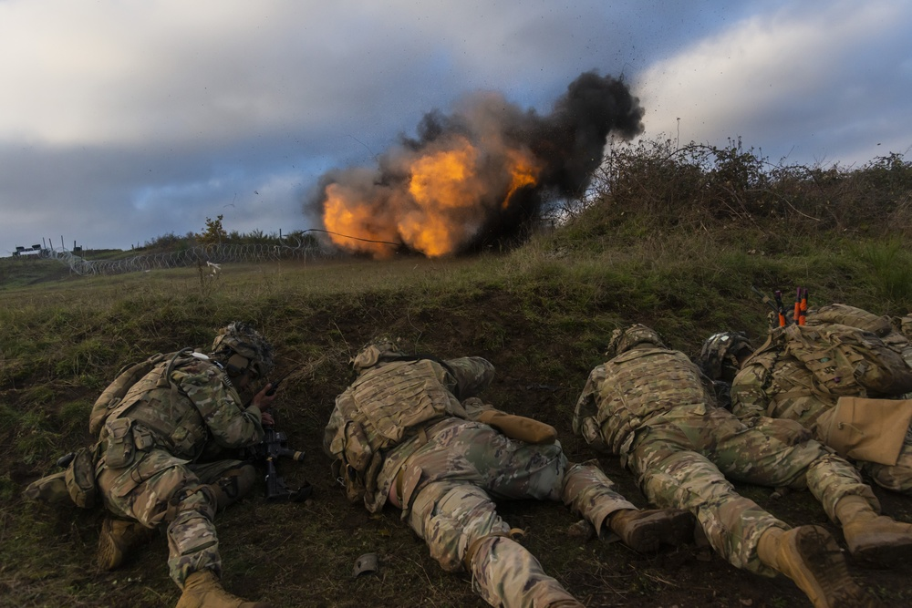 Exercise Full Tang Squad Live Fire