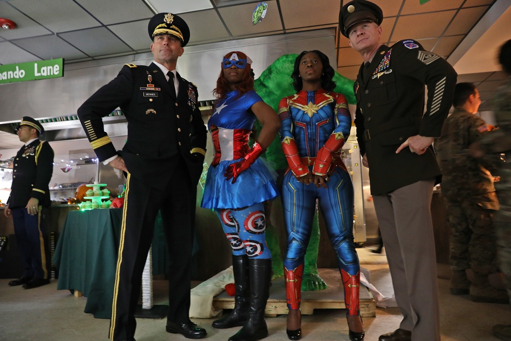 A super Thanksgiving at the Commando Cafe