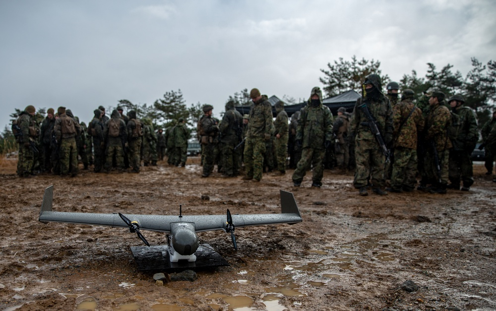 Unmanned Aerial Surveillance Drone