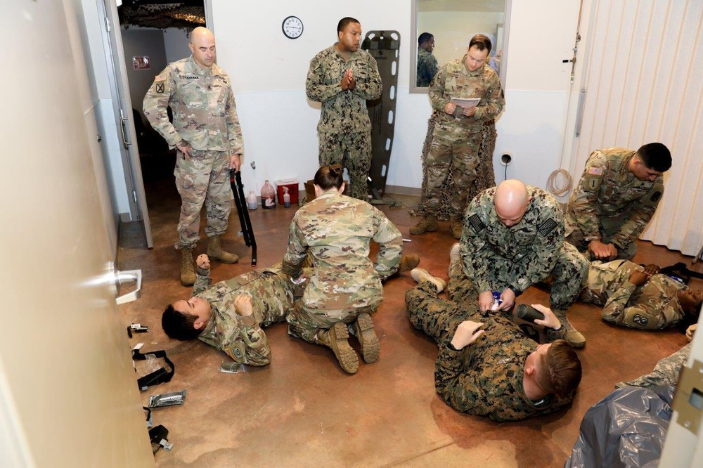 Experts at Fort Benning vet new casualty care curriculum