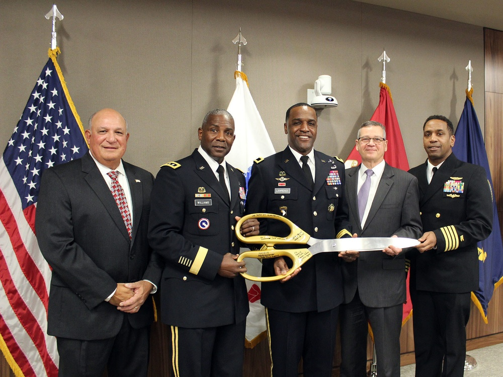 DLA Troop Support ribbon cutting celebrates opening of new, state-of-the-art headquarters building