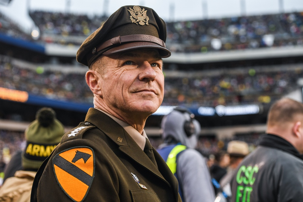 Gen. McConville at Army-Navy