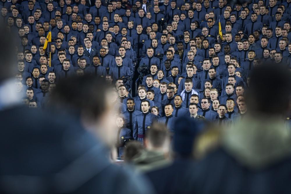 Cadets Singing