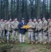 Bastogne leaders with the US Secretary of Defense