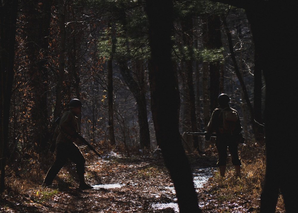 Battle of Hurtgen Forest reenactment
