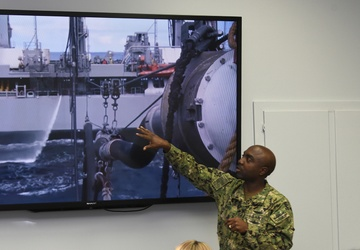 Defense Cyber Scholars Set Sights on Automation, Sailor Readiness at NAVSUP Business Systems Center