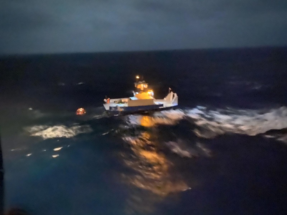 Coast Guard rescues 3 from sinking tugboat 6 miles northeast