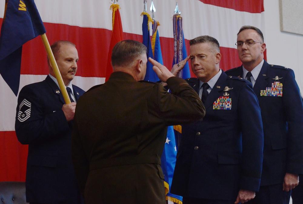 Washington Air National Guard Change of Command