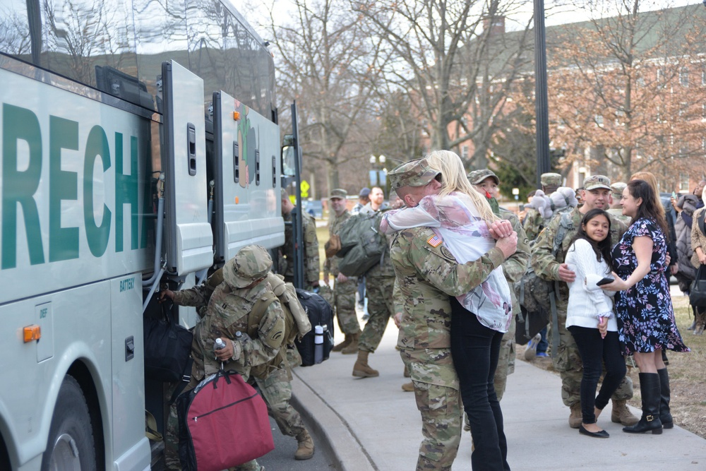 National Guard's 42nd Division Headquarters Mobilized for Overseas Service