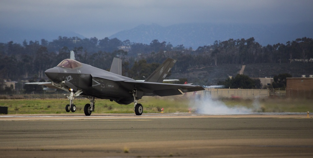Lightning Strikes: VMFA-314 receives its first F-35C