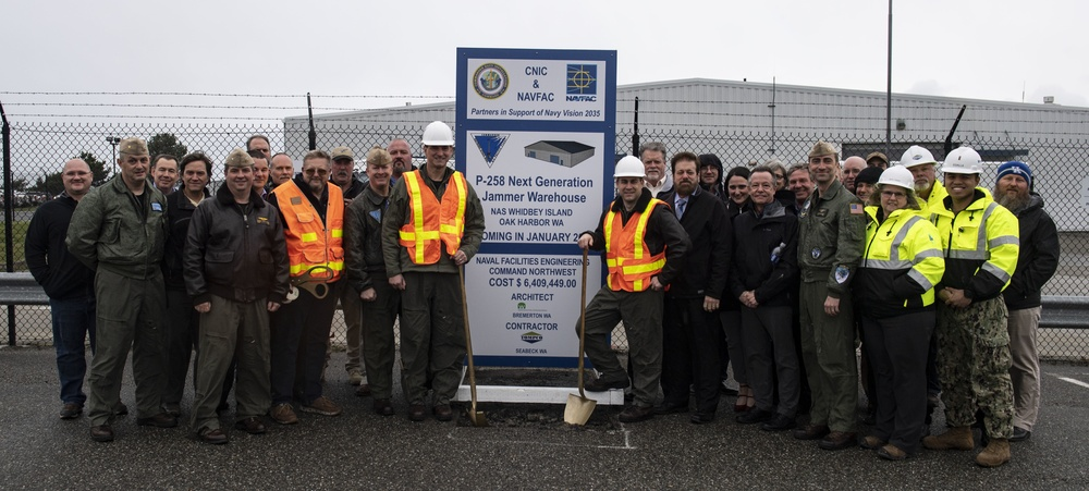 NAS Whidbey Island Begins Construction of NGJ Warehouse