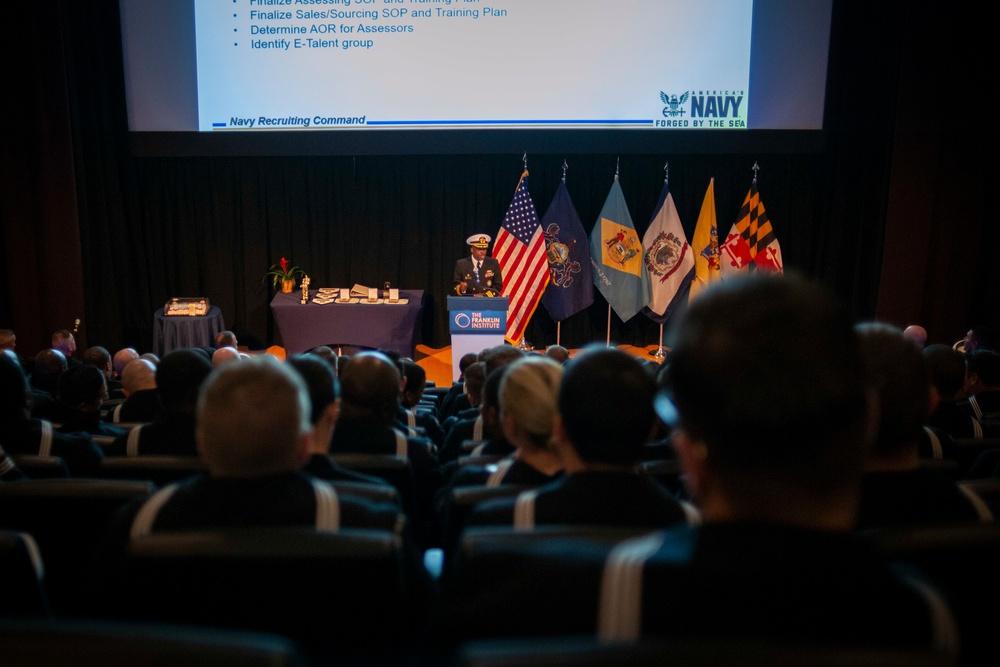 NRD Philadelphia holds a transformation ceremony to NTAG Philadelphia at the Franklin Institute