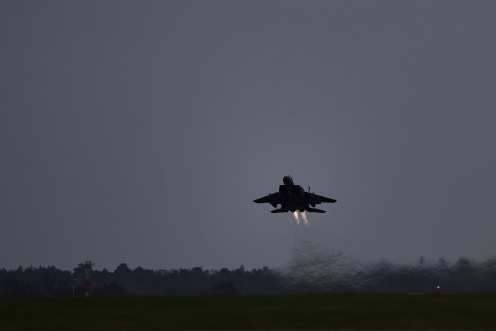 48-hours of limited night flying for USAF in East Anglia and Gloucestershire