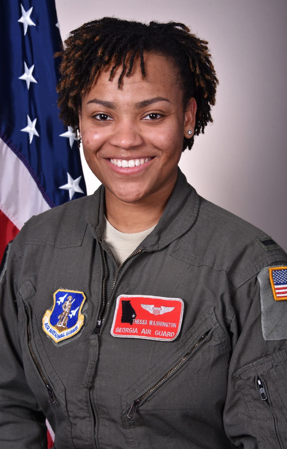 First African-American woman C-130H pilot returns to 165th Airlift Wing.