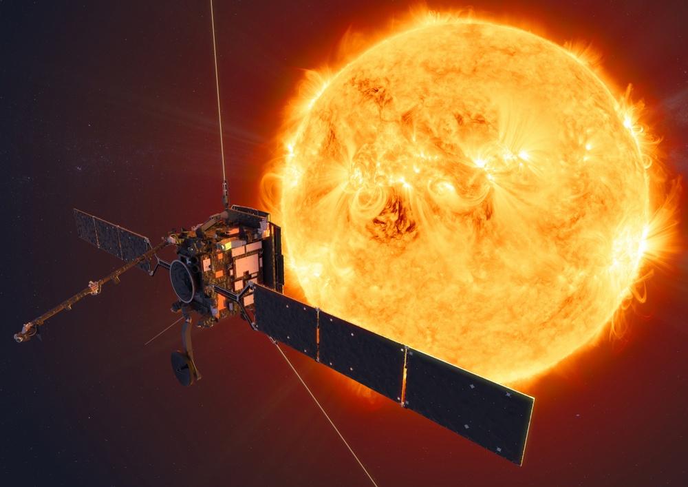 NASA Solar Orbiter spacecraft