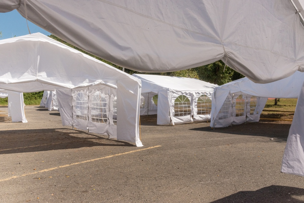 Tents to be Used as Schools in Puerto Rico