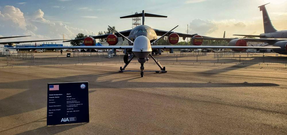 MQ-9 Reaper, Airmen Premiere in Singapore