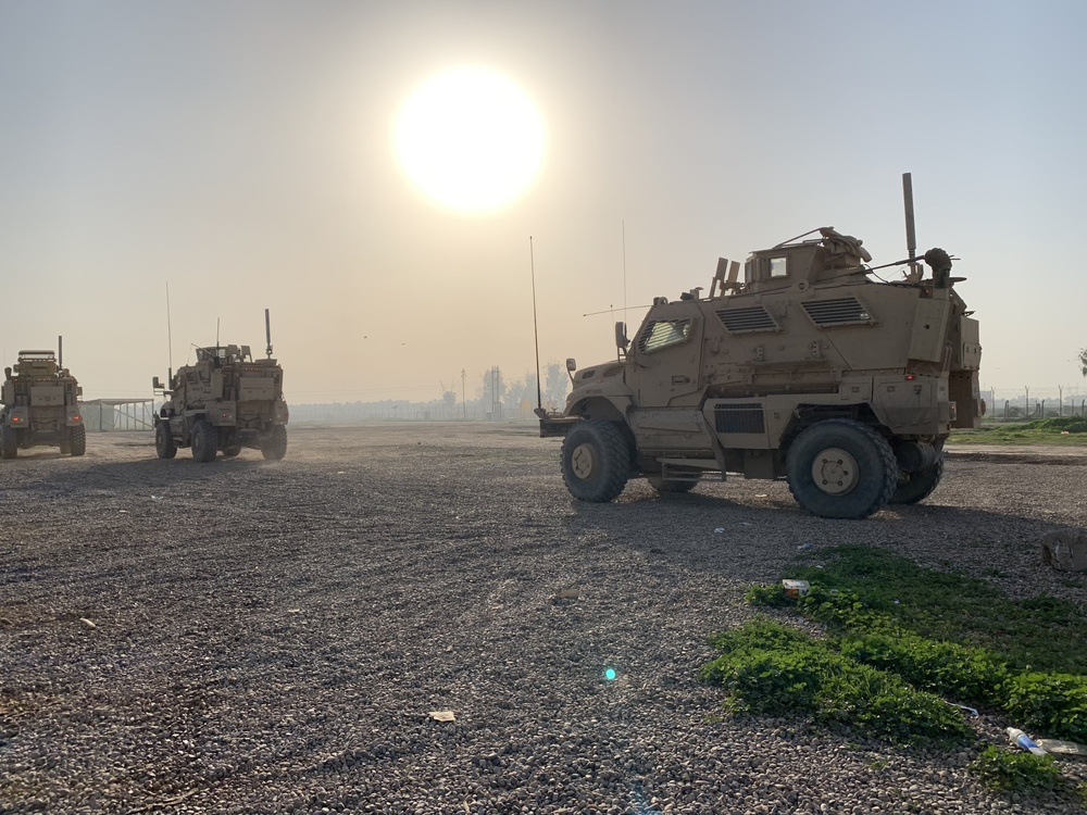 Deployed Illinois Soldiers conduct Range Operations
