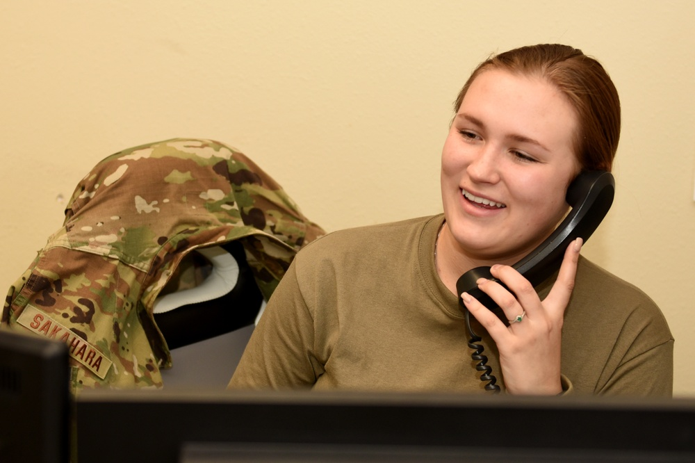 Airman finds stability in communications