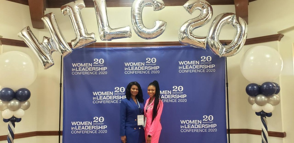 615th ASB major speaks at a Women in Leadership Conference