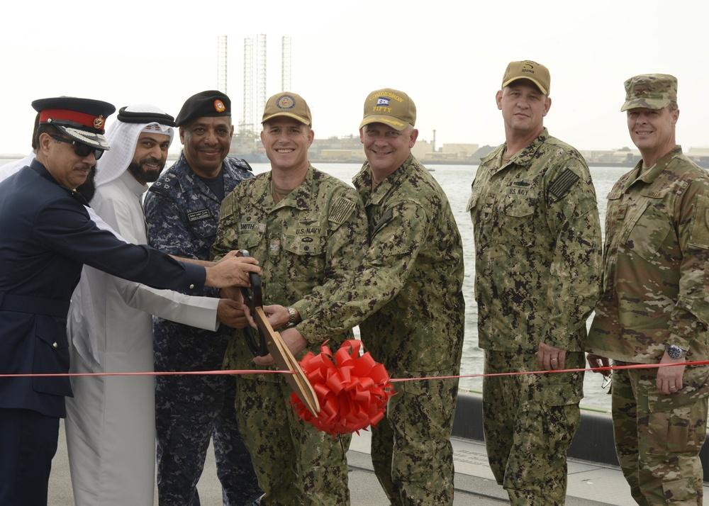 NSA Bahrain Mina Salman Pier Renovation Ribbon-Cutting Ceremony