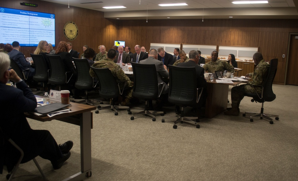 Troop Support reviews previous year, talks future with DLA Director