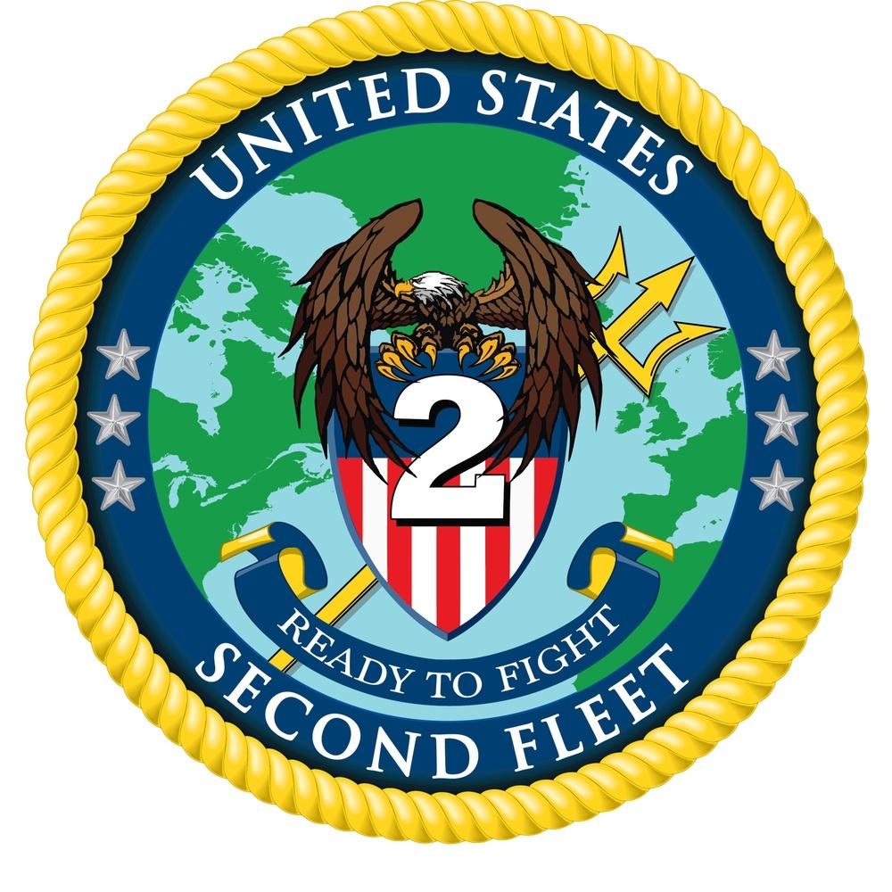 Commander, U.S. 2nd Fleet logo