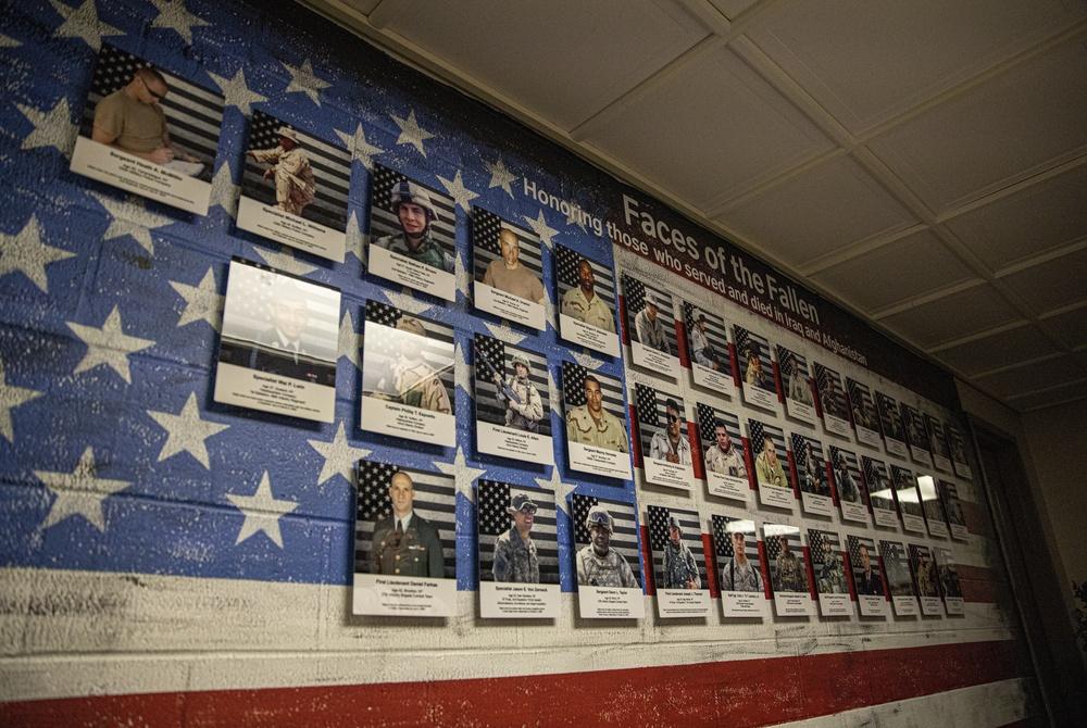 NYNG Fallen Heroes Memorial Wall