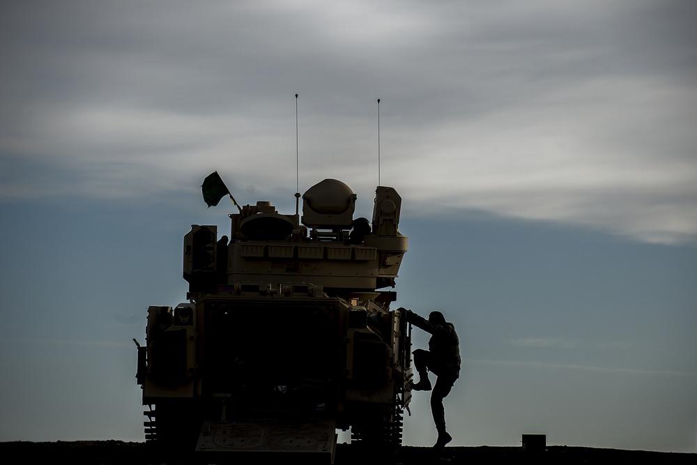 Bradley Fighting Vehicle Gunnery