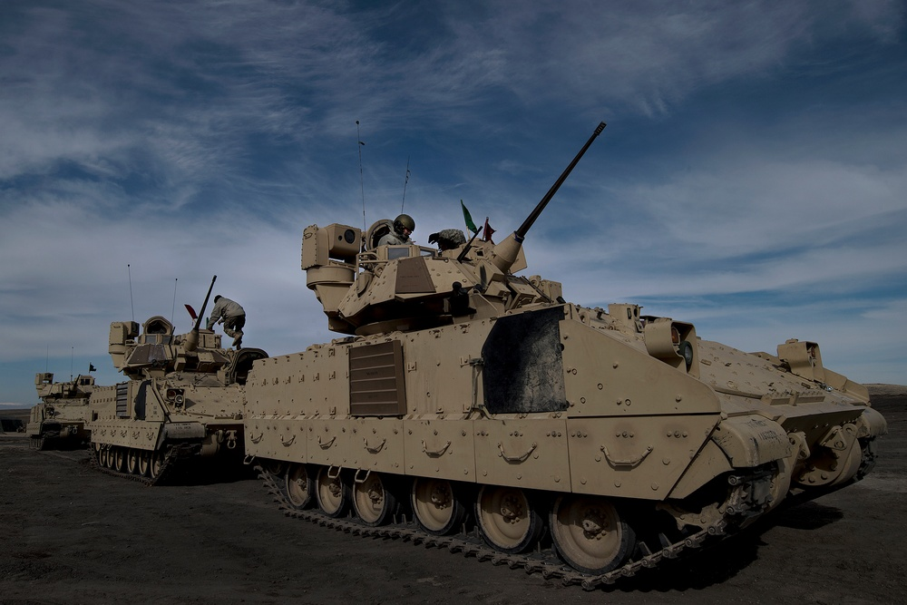 Gunnery Training on the OCTC