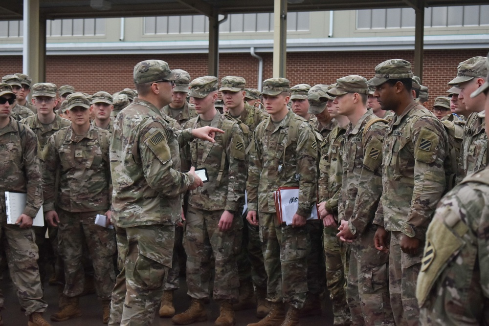 Spartan Soldiers Leave for Defender 2020