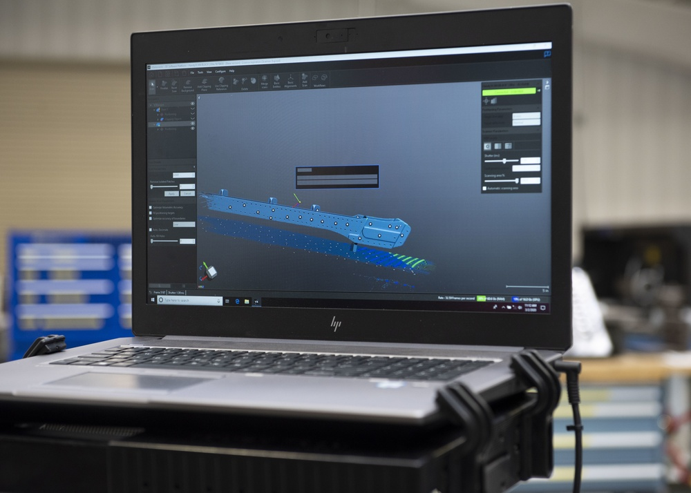 MHAFB brings future faster with hand-held 3D scanner
