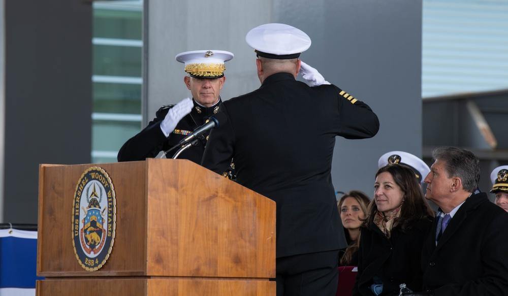 "USS Hershel ""Woody"" Williams"