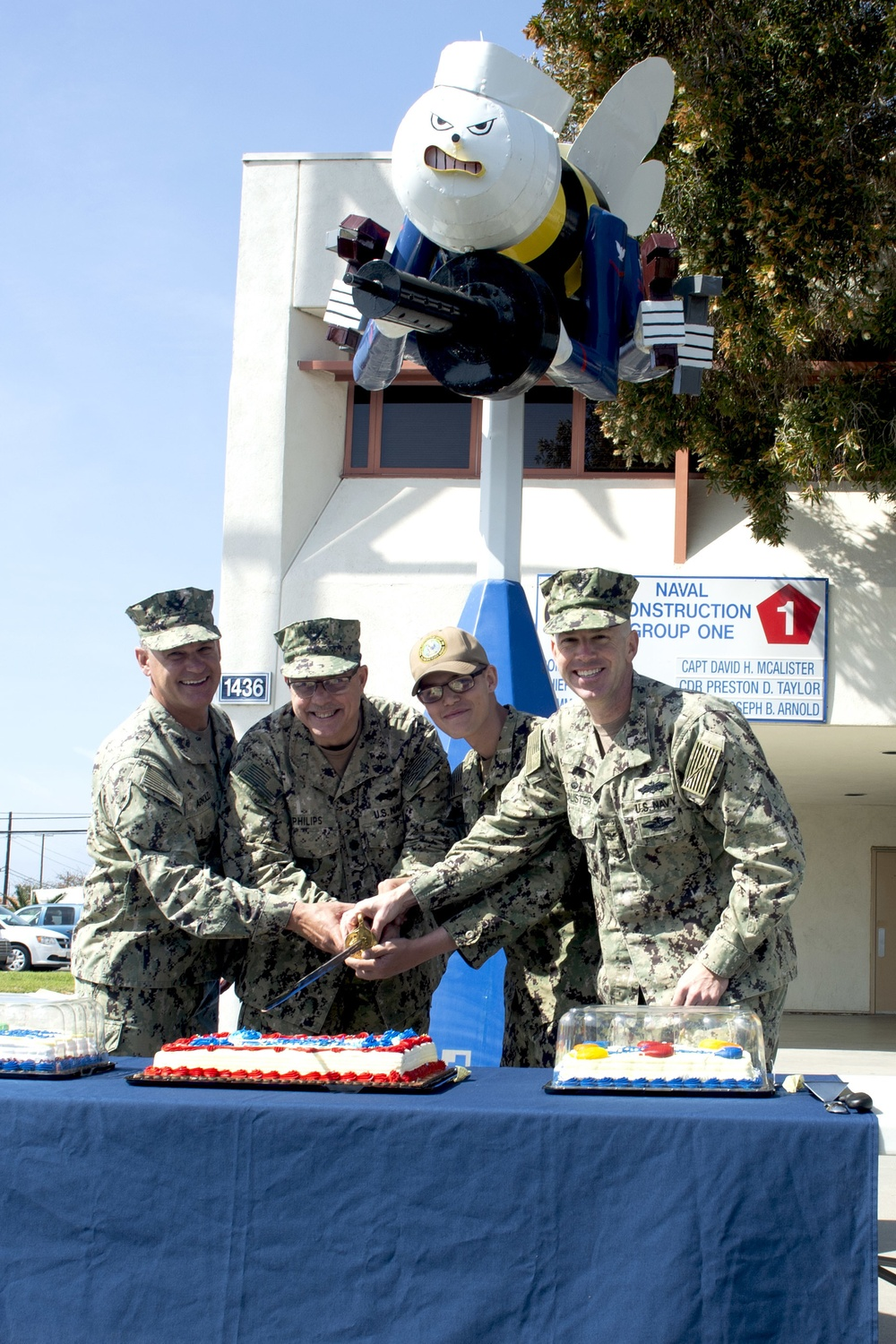Seabees Celebrate 78 Years of Heritage