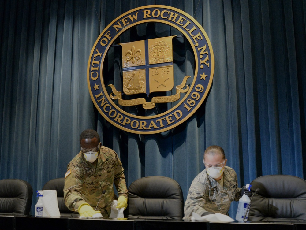 NY National Guard Soldiers assist in COVID-19 response