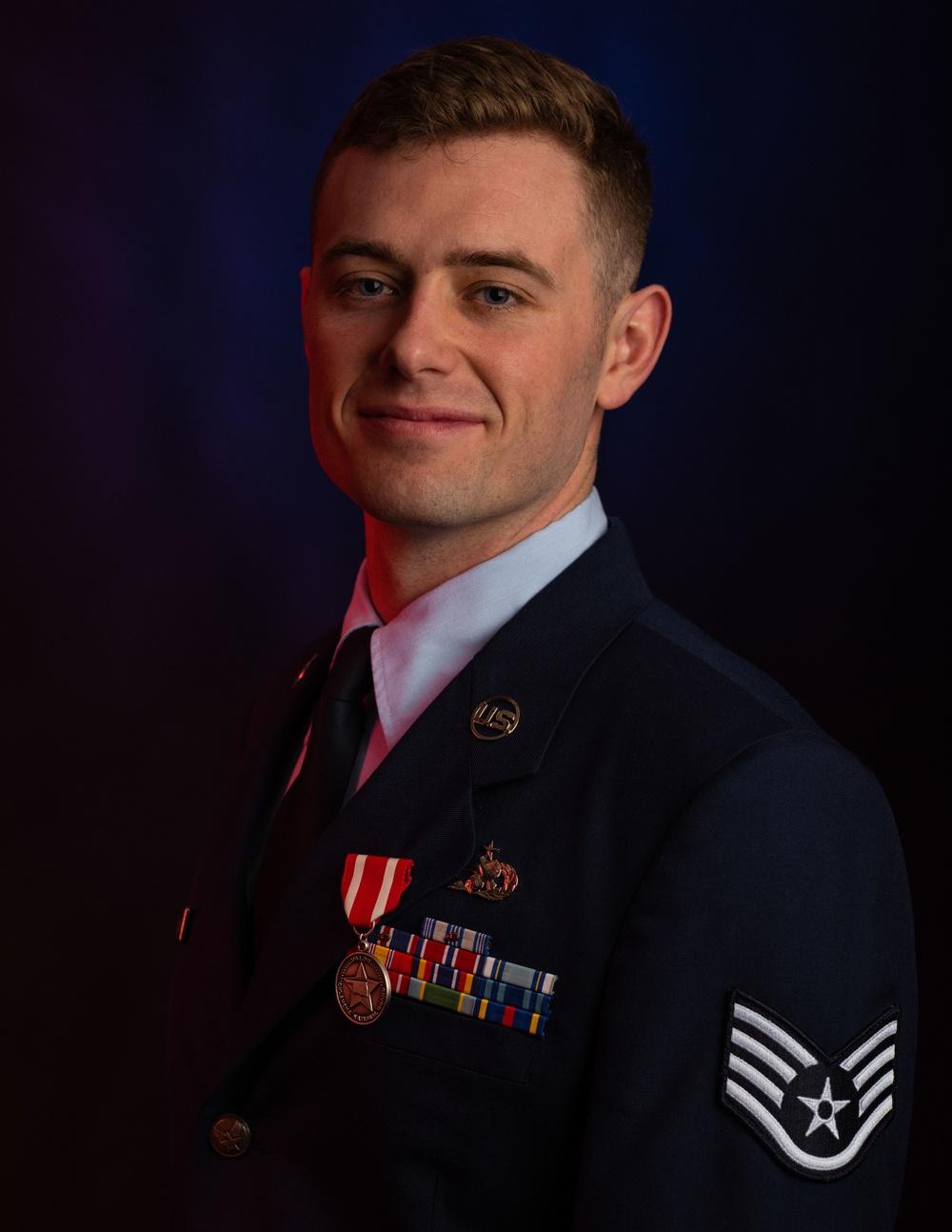 137th SOW Airman receives Oklahoma Star of Valor