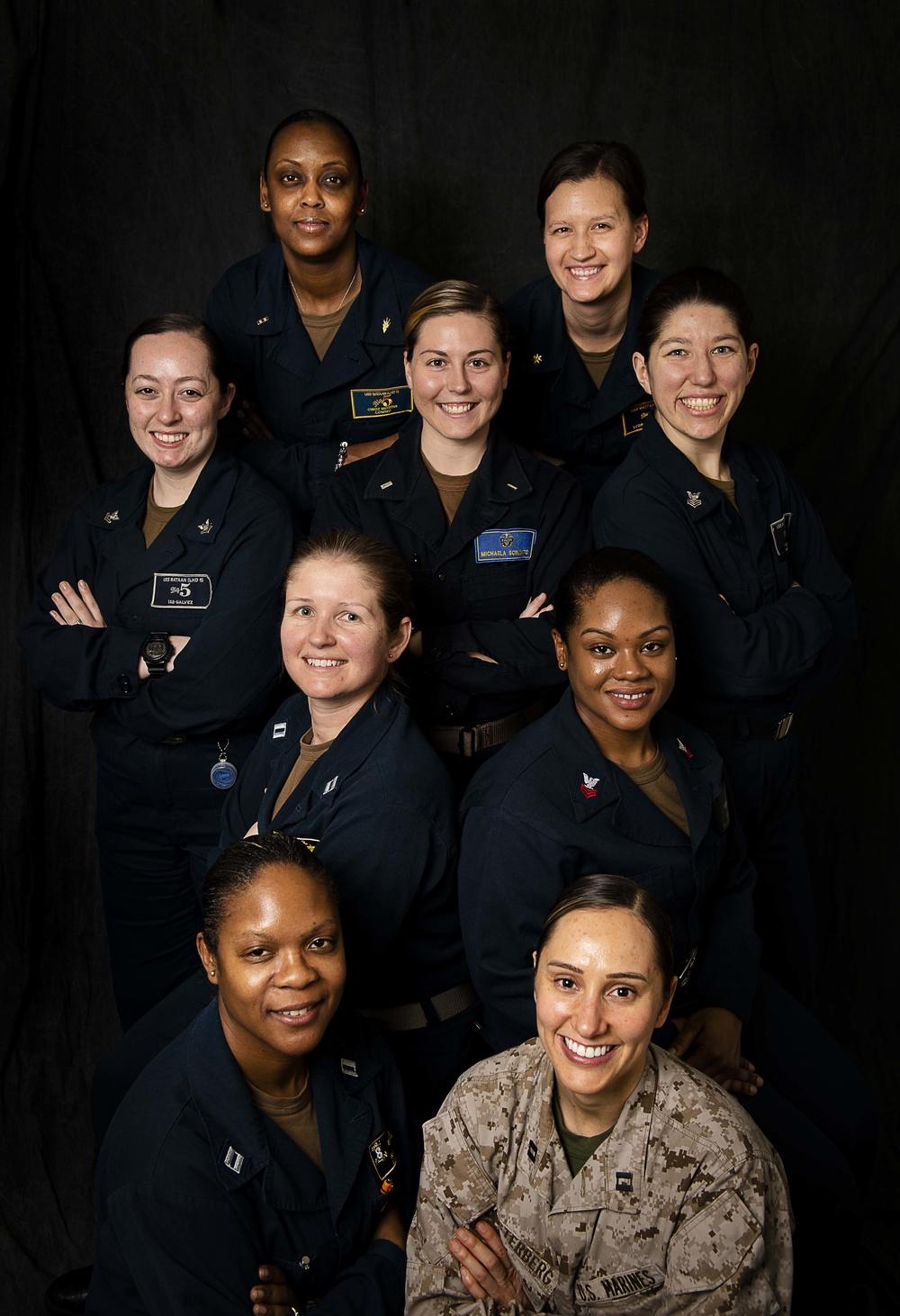 Bataan Information Warfare Women Service Members