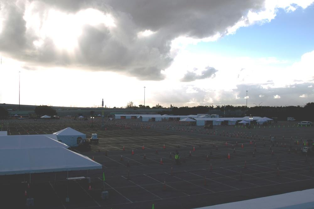 Task Force-Medical Community Based Testing Site Hard Rock Stadium