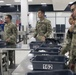 Soldiers arrive at Miami International Airport