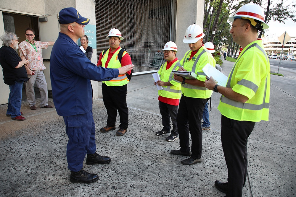 USACE technical team conducts site assessment of Hawaii Convention Center