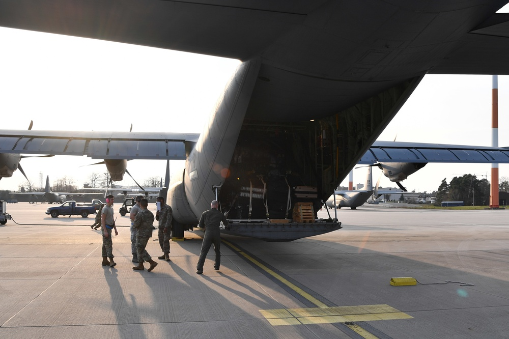 USAFE supports Italy COVID-19 response